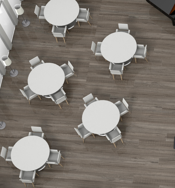 Salle restaurant, cafétaria